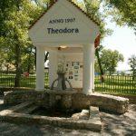 A Theodora, kékkúti ásványvíz