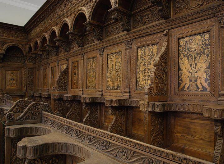 Az ötszáz éves nyírbátori stallum