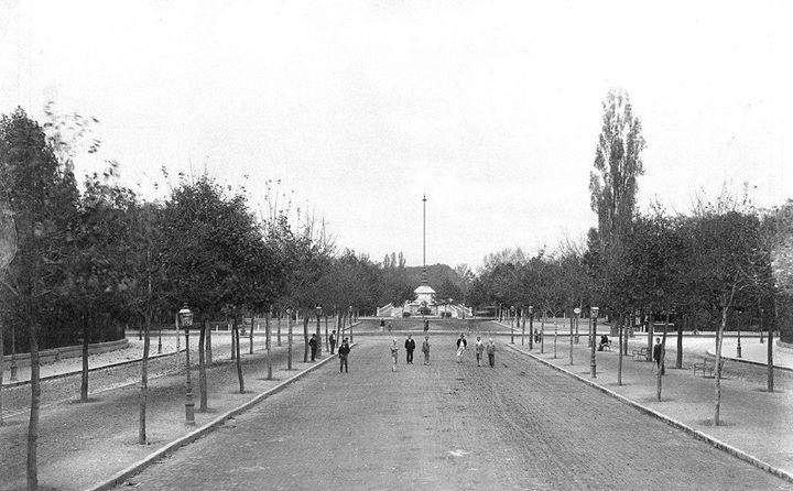 A városligeti Gloriette kút története