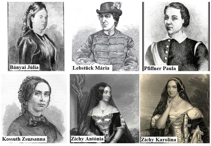 """""""Föl a tett mezejére, polgártársnőim!"""" – Női sorsok az 1848-49-es forradalom és szabadságharcban"""
