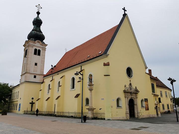 Szombathelyi Árpádházi Szent Erzsébet ferences templom